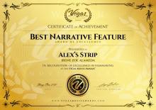 Best Narrative Feature, Festival Vegas Movie Awards