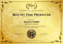 Best Producer, Festival Vegas Movie Awards