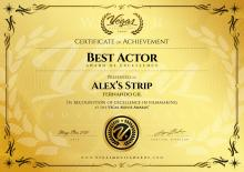 Best Actor, Festival Vegas Movie Awards