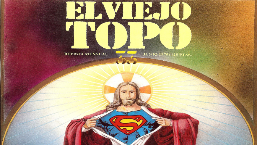 Front page of the magazine El Viejo Topo (June 1979)