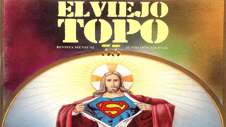 Portada de la revista de El viejo topo para su número de junio de 1979